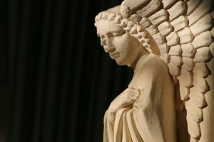Stone Carved Angel