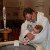 A Baptism at St Stephen's