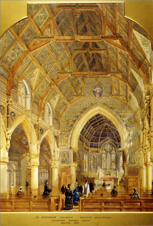 Barry's painting of St Stephen's