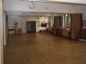 Millennium Hall inside